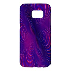 Abstract Fantastic Fractal Gradient Samsung Galaxy S7 Edge Hardshell Case