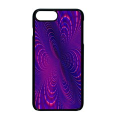 Abstract Fantastic Fractal Gradient Apple Iphone 7 Plus Seamless Case (black)