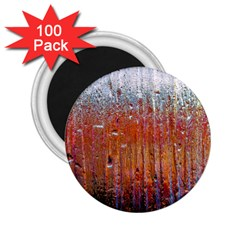 Glass Colorful Abstract Background 2 25  Magnets (100 Pack)