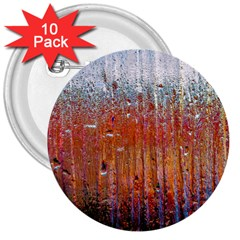 Glass Colorful Abstract Background 3  Buttons (10 Pack)