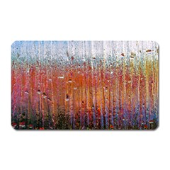 Glass Colorful Abstract Background Magnet (rectangular)