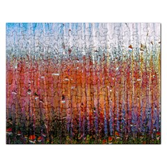 Glass Colorful Abstract Background Rectangular Jigsaw Puzzl