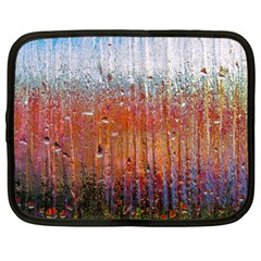 Glass Colorful Abstract Background Netbook Case (large)