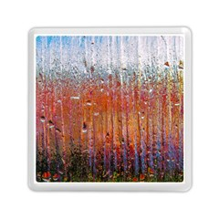 Glass Colorful Abstract Background Memory Card Reader (square)