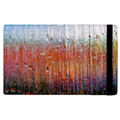 Glass Colorful Abstract Background Apple Ipad 3/4 Flip Case