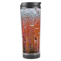 Glass Colorful Abstract Background Travel Tumbler