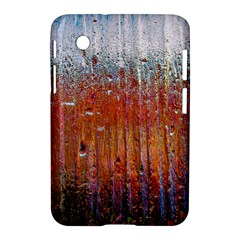 Glass Colorful Abstract Background Samsung Galaxy Tab 2 (7 ) P3100 Hardshell Case