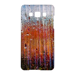 Glass Colorful Abstract Background Samsung Galaxy A5 Hardshell Case