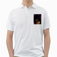 The Fourth Dimension Fractal Golf Shirts