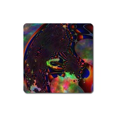 The Fourth Dimension Fractal Square Magnet