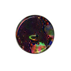 The Fourth Dimension Fractal Hat Clip Ball Marker