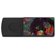 The Fourth Dimension Fractal Rectangular Usb Flash Drive