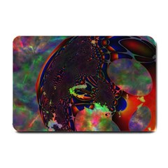 The Fourth Dimension Fractal Small Doormat