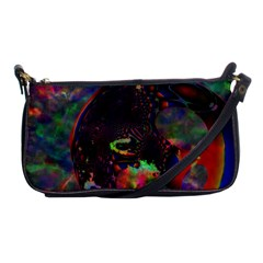 The Fourth Dimension Fractal Shoulder Clutch Bags