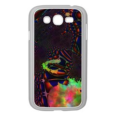 The Fourth Dimension Fractal Samsung Galaxy Grand Duos I9082 Case (white)