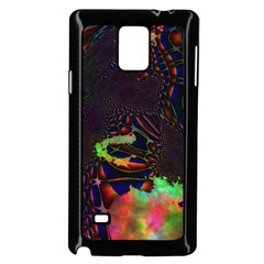 The Fourth Dimension Fractal Samsung Galaxy Note 4 Case (black)