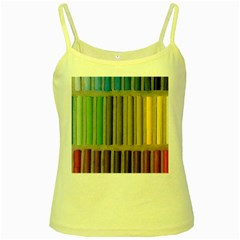 Pastels Cretaceous About Color Yellow Spaghetti Tank
