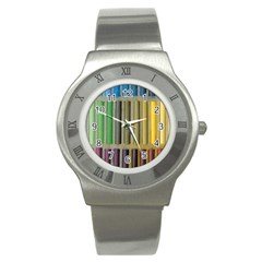 Pastels Cretaceous About Color Stainless Steel Watch