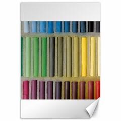 Pastels Cretaceous About Color Canvas 12  X 18