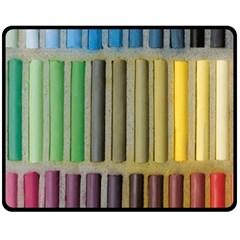 Pastels Cretaceous About Color Fleece Blanket (medium)