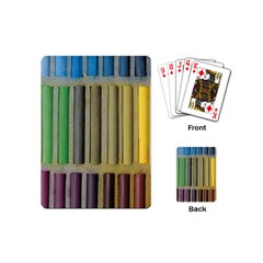 Pastels Cretaceous About Color Playing Cards (mini)