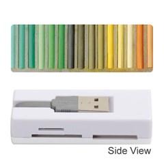 Pastels Cretaceous About Color Memory Card Reader (stick)