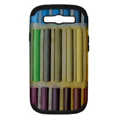 Pastels Cretaceous About Color Samsung Galaxy S Iii Hardshell Case (pc+silicone)