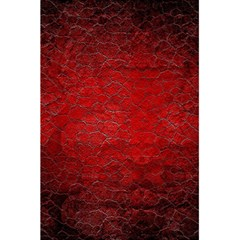 Red Grunge Texture Black Gradient 5 5  X 8 5  Notebooks