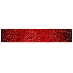Red Grunge Texture Black Gradient Large Flano Scarf