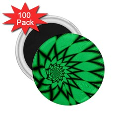 The Fourth Dimension Fractal 2 25  Magnets (100 Pack)