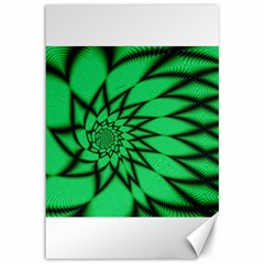 The Fourth Dimension Fractal Canvas 12  X 18