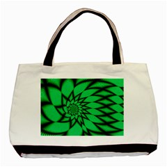 The Fourth Dimension Fractal Basic Tote Bag (two Sides)