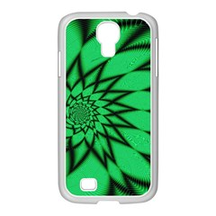 The Fourth Dimension Fractal Samsung Galaxy S4 I9500/ I9505 Case (white)