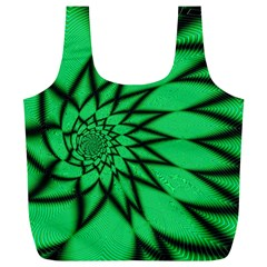 The Fourth Dimension Fractal Full Print Recycle Bags (l)
