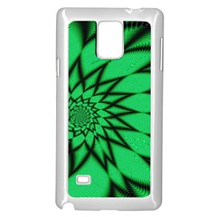 The Fourth Dimension Fractal Samsung Galaxy Note 4 Case (white)