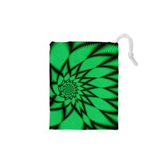 The Fourth Dimension Fractal Drawstring Pouches (xs)