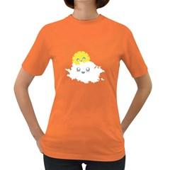 Cloud Cloudlet Sun Sky Milota Women s Dark T Shirt
