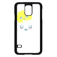 Cloud Cloudlet Sun Sky Milota Samsung Galaxy S5 Case (black)