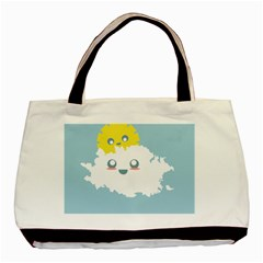 Cloud Cloudlet Sun Sky Milota Basic Tote Bag
