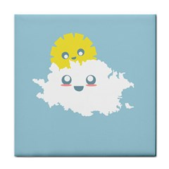 Cloud Cloudlet Sun Sky Milota Face Towel