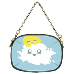 Cloud Cloudlet Sun Sky Milota Chain Purses (one Side)