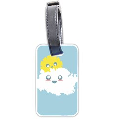 Cloud Cloudlet Sun Sky Milota Luggage Tags (two Sides)