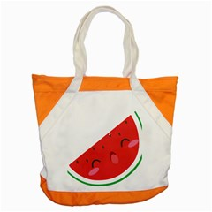 Watermelon Red Network Fruit Juicy Accent Tote Bag