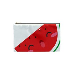 Watermelon Red Network Fruit Juicy Cosmetic Bag (small)