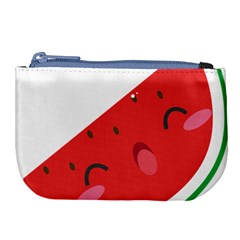 Watermelon Red Network Fruit Juicy Large Coin Purse