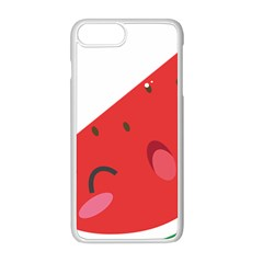 Watermelon Red Network Fruit Juicy Apple Iphone 8 Plus Seamless Case (white)