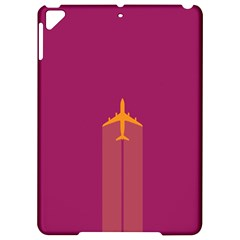 Airplane Jet Yellow Flying Wings Apple Ipad Pro 9 7   Hardshell Case
