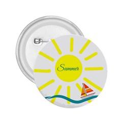 Summer Beach Holiday Holidays Sun 2 25  Buttons