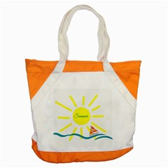 Summer Beach Holiday Holidays Sun Accent Tote Bag