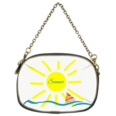 Summer Beach Holiday Holidays Sun Chain Purses (two Sides)